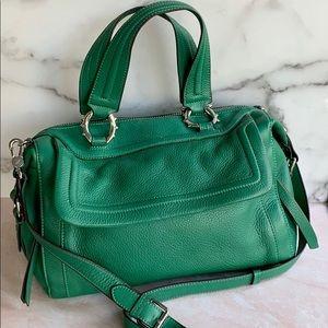 Aimee Kestenberg Kelly Green Crossbody Satchel Bag